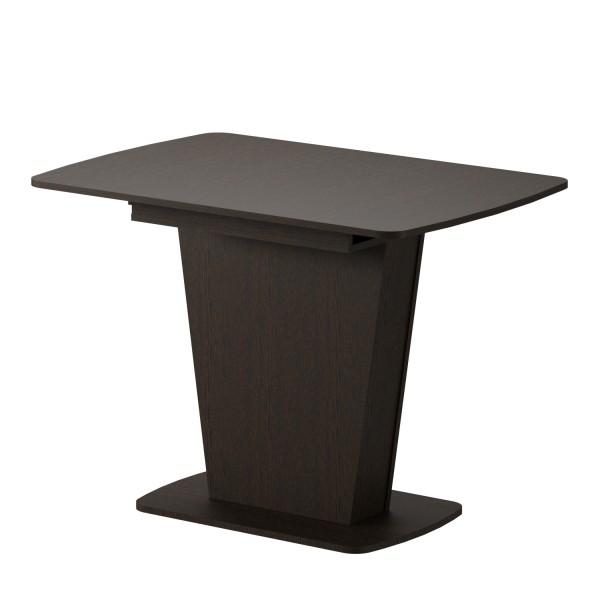 стол обеденный раздвижной лион 750х1100х770 (венге темный)