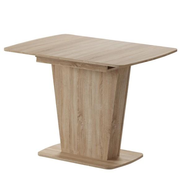 стол обеденный раздвижной лион 750х1100х770 (дуб сонома)