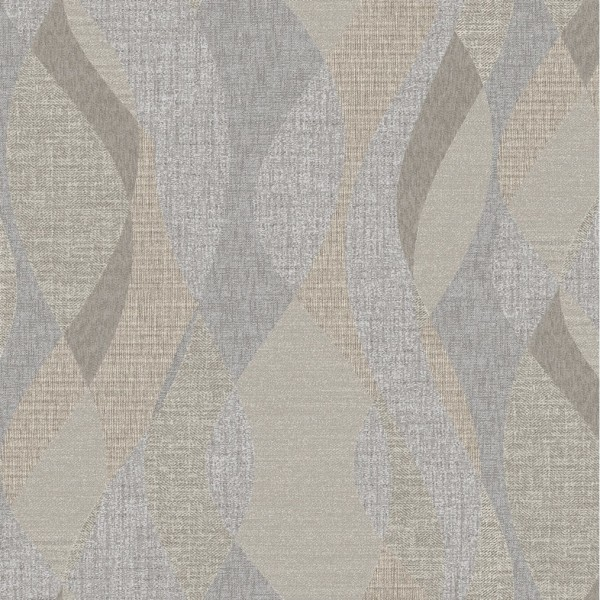 обои 9025-11 euro decor canvas винил на флизе 1.06x10.05, геометрия, серый