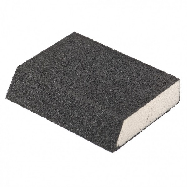 губка для шлифования 120*90*25мм, p40, matrix 75727