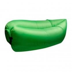 Лежак надувной (салатовый) GR200