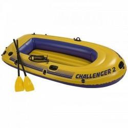 Лодка надувная двухместная Челенджер 68367NP