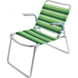 Кресло-шезлонг 1 складное (чехол-в ассортименте)