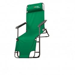 Кресло-Шезлонг двухпозиционное 156х60х82cm Camping / Palisad