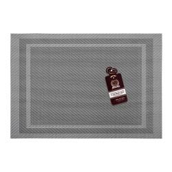 Салфетка сервировочная Геометрия металлик 30х45см Marmiton 16164