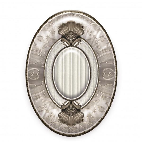 вставка medallon leonora plata-perla 14x10