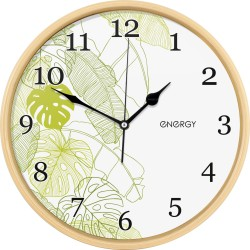 Часы настенные кварцевые ENERGY модель ЕС-108 круглые 009481