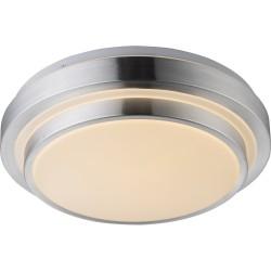 Светильник настенно-потолочный Globo 41738-18 хром LED 1x18W