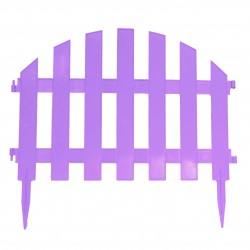 Забор декоративный Уютный сад набор 7 секций мята