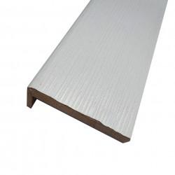Наличник плоский,ПВХ 2150х70х10мм,Белый бланко