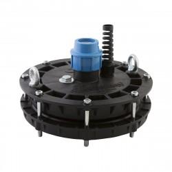 Оголовок ДЖИЛЕКС ОСП 110-130/32 (полимер, скважина от 110-130 мм., для трубы ПЭ 32 мм.)