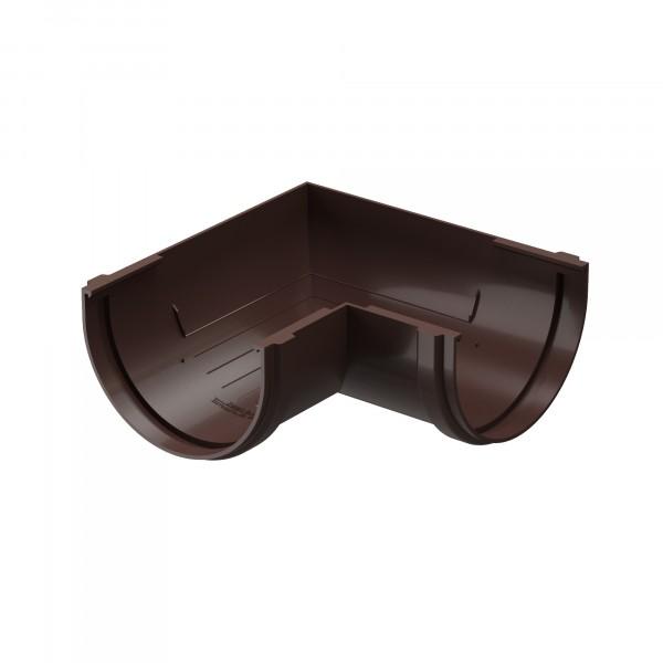 угол желоба docke standart, цвет темно-коричневый, 120 мм х 90°