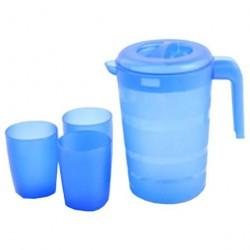 Набор для воды 4 пр. ФАЗЕНДА /кувшин 2,0л + стакан 300мл/ ПЦ1826