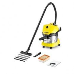 Пылесос для влажной и сухой уборки 1000Вт, 20л MV 4/WD4 Premium *EU-I Karcher 1.348-150