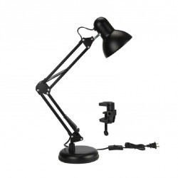 Лампа настольная VKL electric 1016067 Черный 1хЕ27х60Вт