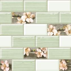 Обои С3-Ф546-04 Соф Мельба-А 04 бумага 0.53x10,05 Кухня, зеленый