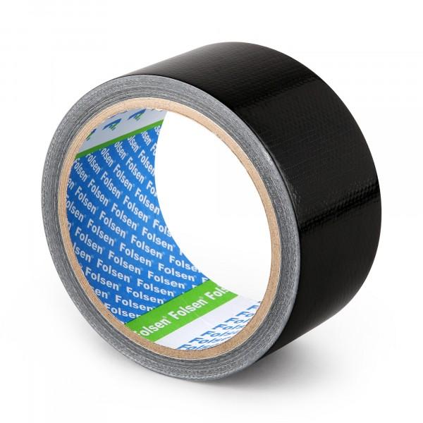 лента тканевая влагоустойчивая folsen 48мм*10м черная армированная лента универсальная зубр профессионал 12096 50 10 влагостойкая 48мм х 10м черная