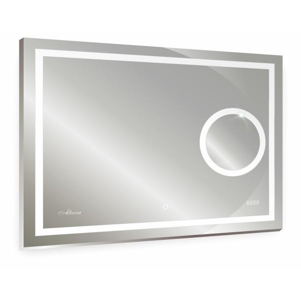 зеркало для ванной esperanza 800х600 с часами