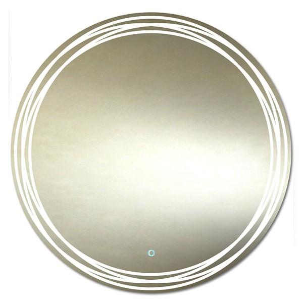 зеркало для ванной teo led 770х770 с подогревом