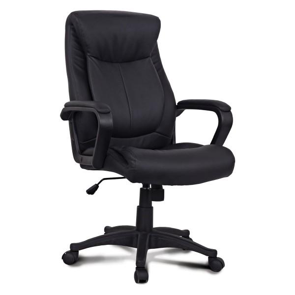 кресло офисное brabix enter ex-511 экокожа черный 530859