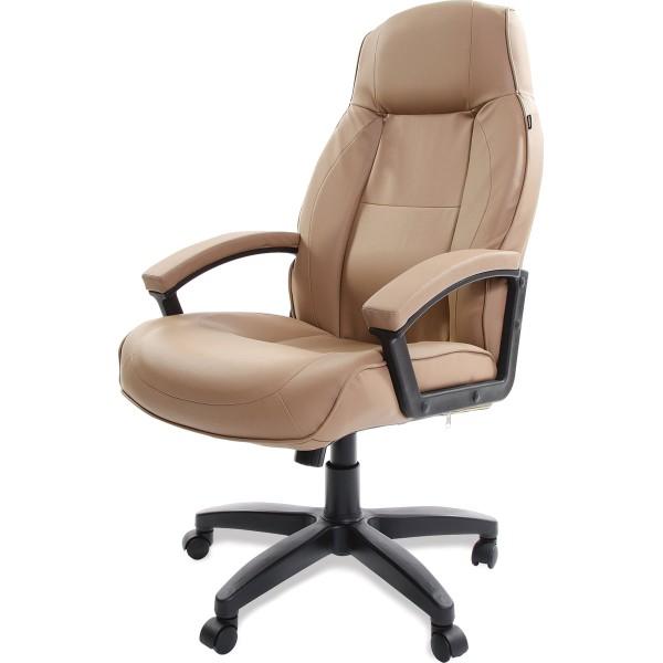кресло офисное brabix formula ex-537 экокожа песочный 531390