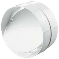 Соединитель для круглых каналов с клапаном 2121Р (125мм)