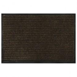 Коврик влаговпитывающий 60*90см VORTEX ребристый, коричневый