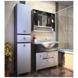 Комплект мебели 85см IKA Мальта венге с умывальником