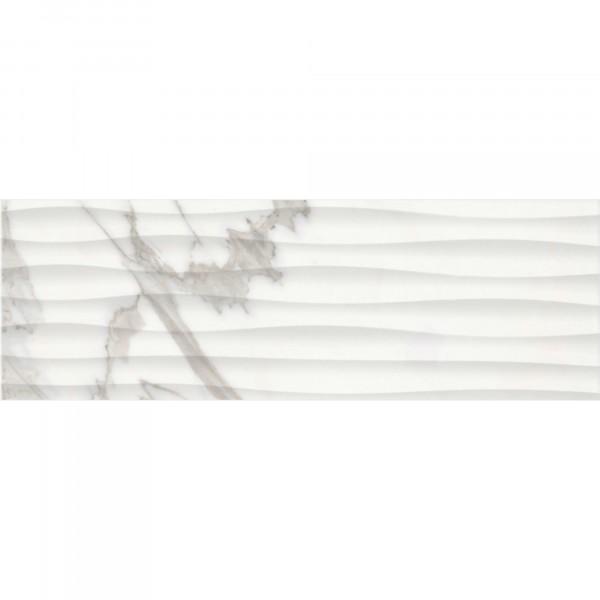 настенная плитка миланезе дизайн каррара 20х60 белый 1064-0158