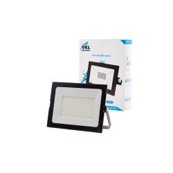Прожектор LED 50W VLF7-50-6500-mini-B  6500К 4500Лм 220V IP65 черный