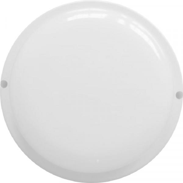 светильник светодиодный влагозащищенный круг 8w , 4000к, 650 лм, ip65 (140*57мм)