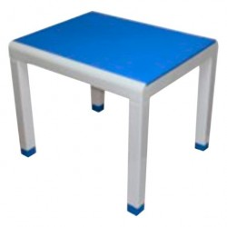 Стол детский синий (0,6*0,5*0,49)