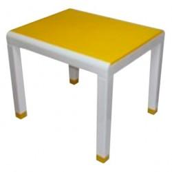 Стол детский желтый (0,6*0,5*0,49)