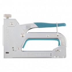 Степлер мебельный регулируемый Handwerker стальной корпус тип скобы 53, 4-14 мм Gross 41000