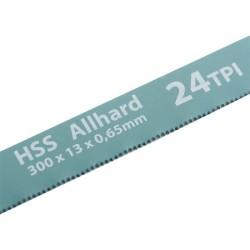 Полотна для ножовки по металлу 300 мм 24TPI HSS 2 шт. Gross