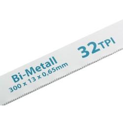 Полотна для ножовки по металлу 300 мм 32TPI BiM 2 шт. Gross