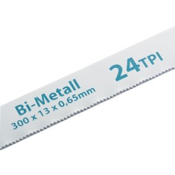 Полотна для ножовки по металлу 300 мм 24TPI BIM 2 шт. Gross