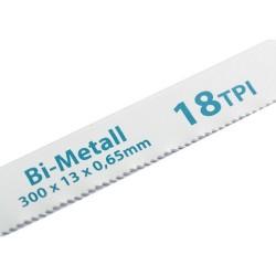 Полотна для ножовки по металлу 300 мм 18TPI BIM 2 шт. Gross