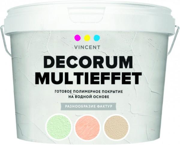 покрытие vincent decorum d2 мультиэффект 18кг