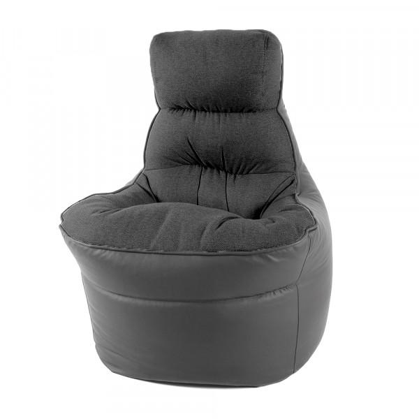 пуф кресло денвер (серый)