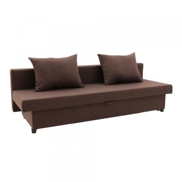 диван-кровать ривьера 2000х800х630 chocolate