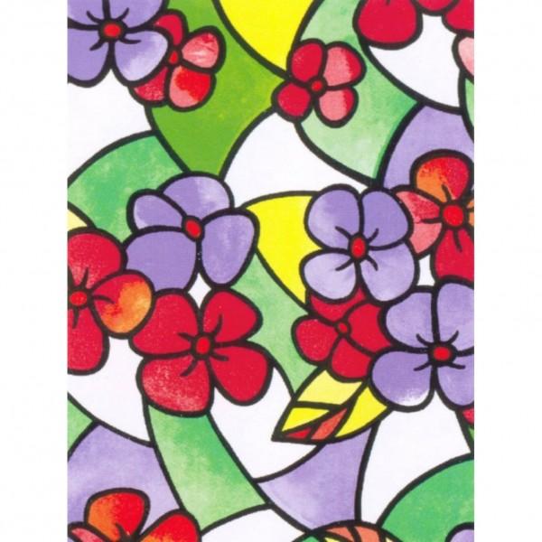 пленка самокл. 8544 0,45*8м hongda цветная, декор пленка