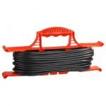 Удлинитель-шнур 20м 1гн 6А (ПВС 2х0,75) на рамке УШ-6 Универсал 9632016