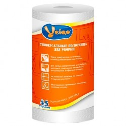 Полотенца Linia Veiro для уборки 45 отрывов