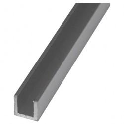 Швеллер алюминиевый 10*10*10*1,5 2,0м серебро