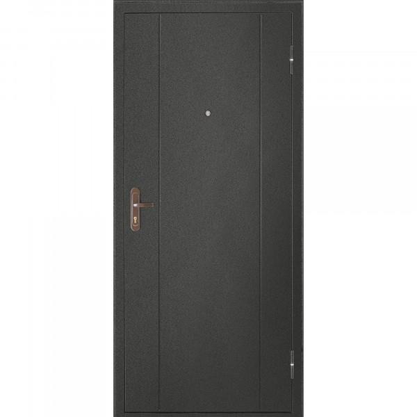 дверь входная металлическая форпост 51 2050х880 правая,черный антик