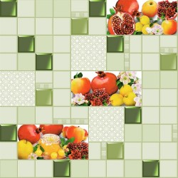 Обои С3-Ф536-04 Соф Гранат 04 бумага 0.53x10,05 Кухня, зеленый