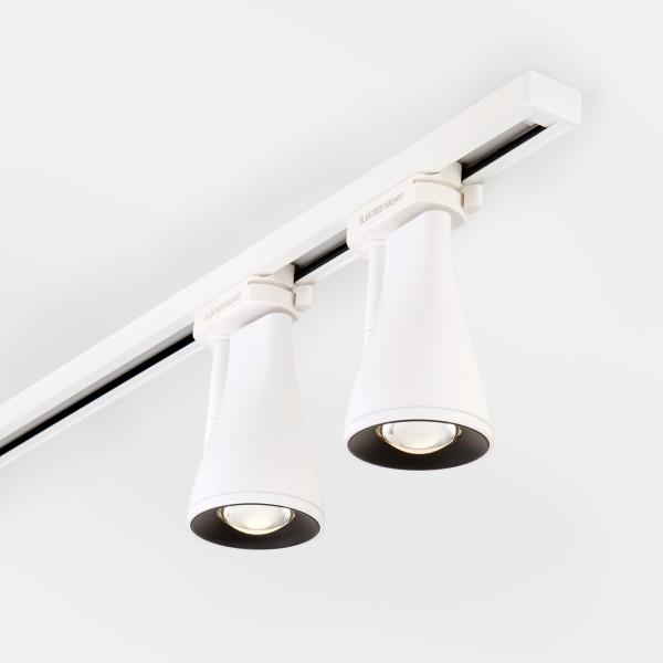светильник ltb18 потолочный светодиодный hardi белый 9w 4200k