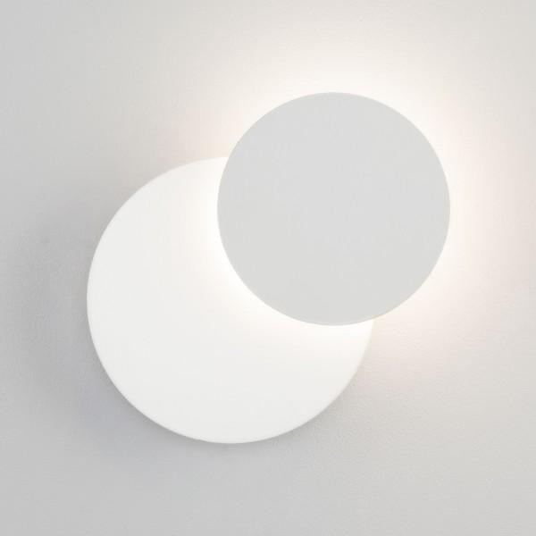 светильник настенный eurosvet figure 40135/1 6w белый светильник настенный eurosvet screw 40136 1 6w белый
