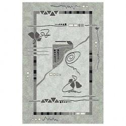 Ковер Silver 0,8*1,5м 5305 серый